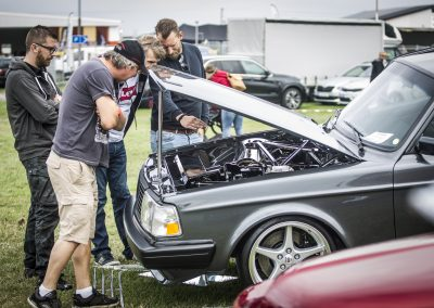 Bilsport besöker Vallåkraträffen 2018.