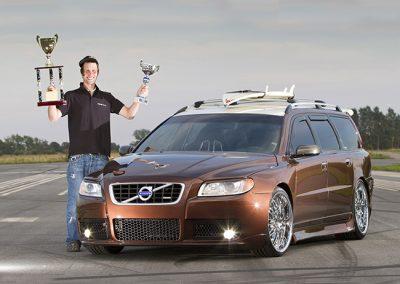 2011, Daniel Collin, Volvo V70
