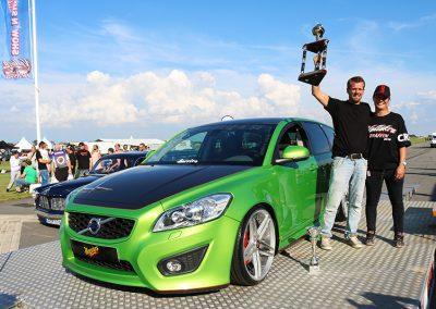 """2016, Rickard """"Rille K"""" Kindvall, Volvo V50"""