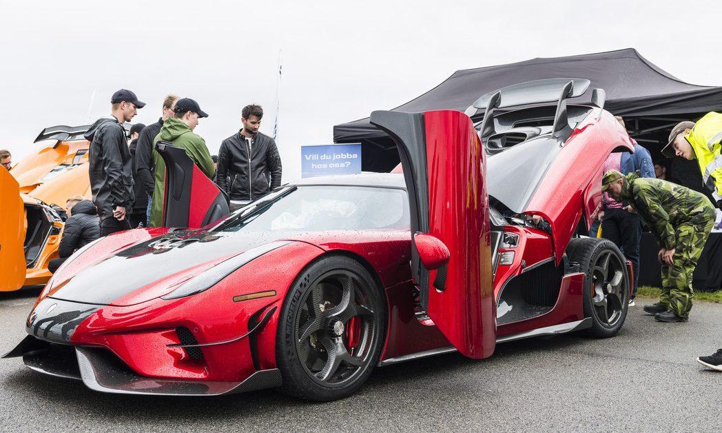 Koenigsegg på plats!