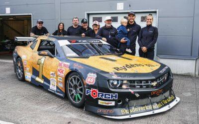 Svensk mästare i V8 Thundercar till träffen!